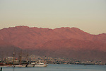 Israel, a view of Aqaba as seen from Eilat