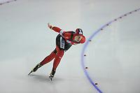 SCHAATSEN: Calgary: Essent ISU World Sprint Speedskating Championships, 28-01-2012, 1000m Dames, Jenny Wolf (GER), ©foto Martin de Jong