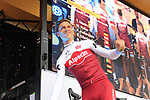 Tony Martin (GER) Team Katusha Alpecin on stage at the Team Presentation in Burgplatz Dusseldorf before the 104th edition of the Tour de France 2017, Dusseldorf, Germany. 29th June 2017.<br /> Picture: Eoin Clarke | Cyclefile<br /> <br /> <br /> All photos usage must carry mandatory copyright credit (&copy; Cyclefile | Eoin Clarke)