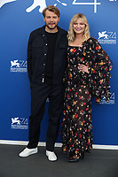 Pilou Asbaek and Kirsten Dunst at the 'WOODSHOCK' photocall during the 74th Venice Film Festival at Sala Casino on September 4, 2017 in Venice, Italy.<br /> CAP/GOL<br /> &copy;GOL/Capital Pictures