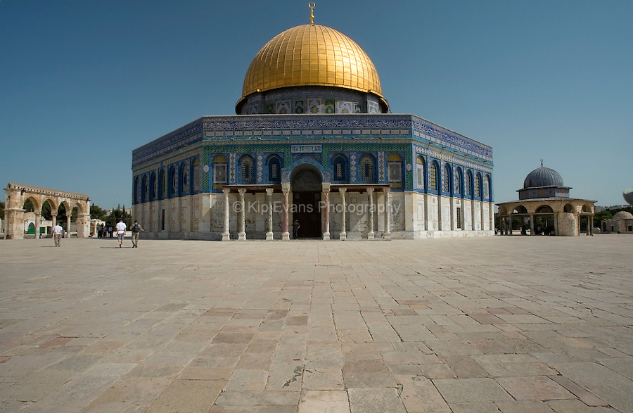 Dome of the Rock on Temple Mount in Jerusalem