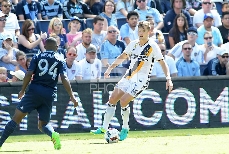 Kansas City, KS. - September 18, 2016: Sporting Kansas City tied L.A. Galaxy 2-2 in a MLS game at Children's Mercy Park.