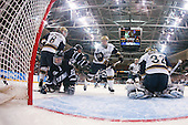 Sam Calabrese (Notre Dame - 8), Stevie Moses (UNH - 22), Mike Borisenok (UNH - 14), Sean Lorenz (Notre Dame - 24), Mike Johnson (Notre Dame - 32) - The University of Notre Dame Fighting Irish defeated the University of New Hampshire Wildcats 2-1 in the NCAA Northeast Regional Final on Sunday, March 27, 2011, at Verizon Wireless Arena in Manchester, New Hampshire.