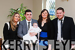 Little Bella Rose O'Connor Killarney celebrated her christening with her parents Alan O'connor and Pia Buckley and god parents Cathal Buckley and Jennifer O'Connor in the Torc hotel on Sunday