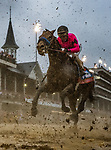 LOUISVILLE, KENTUCKY - MAY 04: Game Winner with Joel Rosario races in the Kentucky Derby at Churchill Downs in Louisville, Kentucky on May 04, 2019. Evers/Eclipse Sportswire/CSM