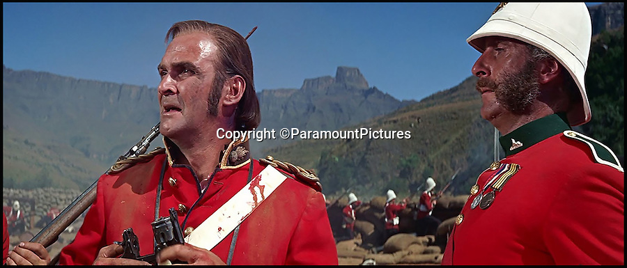 BNPS.co.uk (01202 558833)<br /> Pic: ParamountPictures<br /> <br /> Stanley Baker as Lieutenant John Chard (left), Charles Robson was the batman to Lt Chard.<br /> <br /> A medal awarded to one of the defenders of Rorke's Drift, which was immortalised in the film Zulu, has sold for £132,000 138 years on.<br /> <br /> Driver Charles Robson was the batman, or personal servant, to Victoria Cross hero Lieutenant John Chard, who was played by Stanley Baker in the classic 1964 movie.<br /> <br /> The duo formed part of the 140-strong British garrison which defied all odds to successfully defend the Rorke's Drift mission station from 4,000 marauding Zulu warriors in 1879.<br /> <br /> Robson never left the side of Lt Chard, who was the commanding officer and who organised the epic defences which included piling up mealie bags to form a makeshift wall.<br /> <br /> The medal went under the hammer with London auctioneers Dix Noonan Webb today and went for a record £132,000.