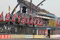 SAO PAULO, SP, 04 DE MAIO DE 2013 - TREINO CLASSIFICATÓRIO SP INDY 300 - Pilotos durante treino classificatório da São Paulo Indy 300, realizado na tarde deste sabado (04) no circuito de rua do Anhembi, zona norte da cidade.  FOTO: MAURICIO CAMARGO / BRAZIL PHOTO PRESS.