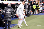 Real Madrid's Cristiano Ronaldo during Copa del Rey match between Real Madrid and Celta de Vigo at Santiago Bernabeu Stadium in Madrid, Spain. January 18, 2017. (ALTERPHOTOS/BorjaB.Hojas)
