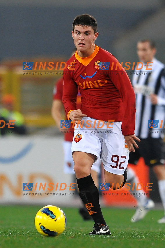 "Federico Viviani Roma.Roma 12/12/2011 Stadio ""Olimpico"".Football Calcio 2011/2012 Serie A.Roma Vs Juventus 1-1.Foto Insidefoto Andrea Staccioli"