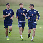 Kieran Tierney, Stuart Armstrong and Anthony Ralston