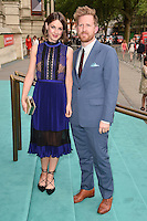 Jessica Raine &amp; Tom Goodman Hill at the V&amp;A Summer Party at the Victoria and Albert Museum, London.<br /> June 22, 2016  London, UK<br /> Picture: Steve Vas / Featureflash