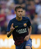 FUSSBALL  INTERNATIONAL  PRIMERA DIVISION  SAISON 2013/2014   10. Spieltag  El Clasico   FC Barcelona - Real Madrid         26.10.2013 Neymar (Barca)