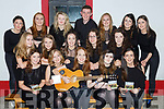 The Clonkeen Youth Choir who launched their new CD in the Kerry Way bar Glenflesk on Friday night front row l-r:Aoife Cronin, Lucy Cronin Jennifer Murphy, Leah lynch, Roisin Kelliher, Annesia Cronin, Ava Healy, Emma Cantilon, Aideen O'Donoghue, Alison O'Sullivan, Back row: Aoife Keliher, Mary O'Sullivan, Connie Lynch, Denis O'Sullivan, Ellen Cronin , Mairead Kelliher, Aoife O'Sullivan