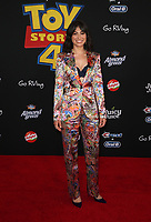 "HOLLYWOOD, CA - JUNE 11: Melissa Villasenor, at The Premiere Of Disney And Pixar's ""Toy Story 4"" at El Capitan theatre in Hollywood, California on June 11, 2019. <br /> CAP/MPIFS<br /> ©MPIFS/Capital Pictures"