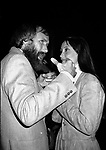 Shelley Duvall & Jim Henson attend a party celebrating the release of TIME BANDITS at the Underground Disco in New York City.<br />