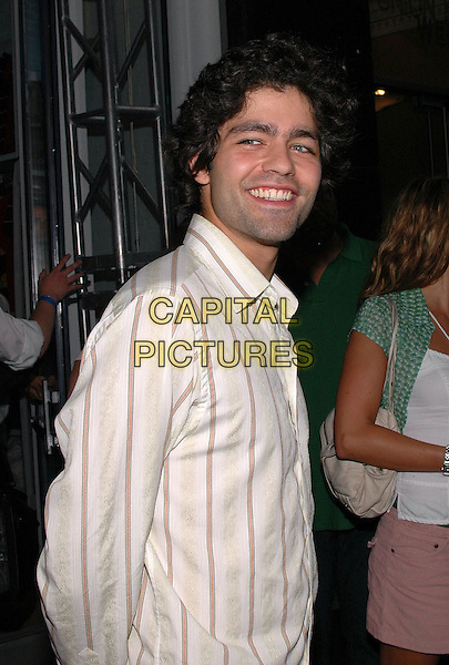 "ADRIAN GRENIER.American Eagle Outfitters' ""Live Your Life Contest"" winners at the Union Square flagship store in Manhattan, New York, New York..July 27th, 2005  .Photo Credit: Patti Ouderkirk/AdMedia.half length.www.capitalpictures.com.sales@capitalpictures.com.© Capital Pictures."