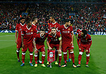 Liverpool team form a team group during the Champions League Group E match at the Anfield Stadium, Liverpool. Picture date 13th September 2017. Picture credit should read: Simon Bellis/Sportimage