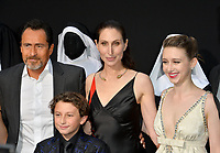 "LOS ANGELES, CA. September 04, 2018: Demian Bichir, August Maturo, Bonnie Aarons & Taissa Farmiga at the world premiere of ""The Nun"" at the TCL Chinese Theatre, Hollywood."