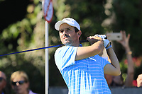 Thomas Aiken (RSA) tees off the 11th tee during Thursday's Round 1 of the 2018 Turkish Airlines Open hosted by Regnum Carya Golf &amp; Spa Resort, Antalya, Turkey. 1st November 2018.<br /> Picture: Eoin Clarke | Golffile<br /> <br /> <br /> All photos usage must carry mandatory copyright credit (&copy; Golffile | Eoin Clarke)