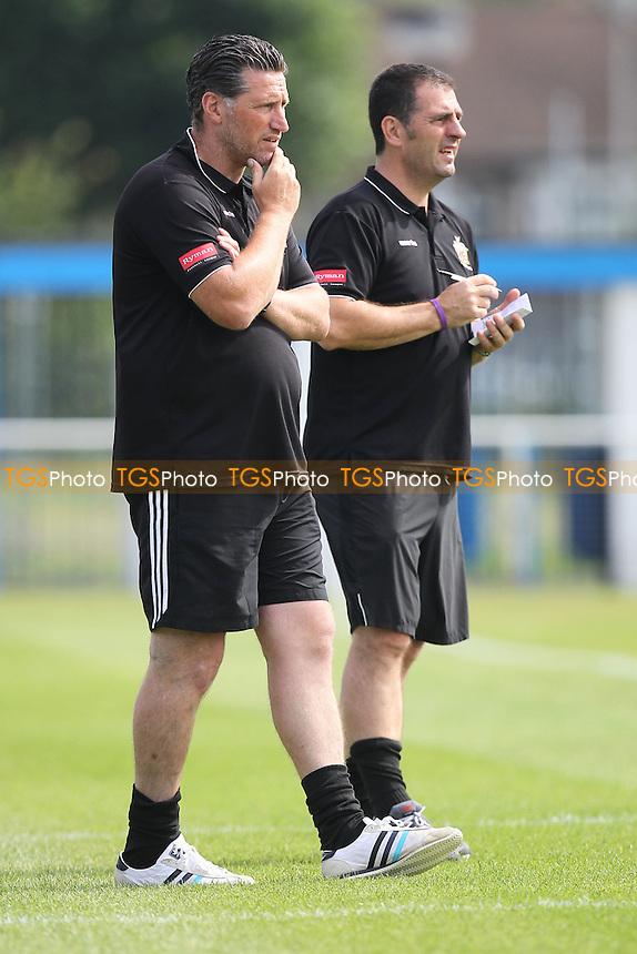 Hornchurch manager Jim McFarlane - Grays Athletic vs AFC Hornchurch - Friendly Football match at Rush Green Stadium - 11/08/12 - MANDATORY CREDIT: Gavin Ellis/TGSPHOTO - Self billing applies where appropriate - 0845 094 6026 - contact@tgsphoto.co.uk - NO UNPAID USE.
