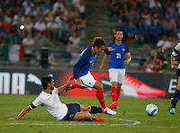 during the  friendly  soccer match,between Italy  and  France   at  the San  Nicola   stadium in Bari Italy , September 01, 2016<br /> <br /> amichevole di calcio tra le nazionali di Italia e Francia