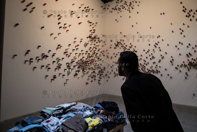 """Arsenale - Lee Mingwei: """"The Mending Project"""