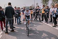 Marta Bastianelli (ITA/Team Virtu Cycling) wins the 16th Ronde Van Vlaanderen<br /> <br /> Elite Womans Race (1.WWT)<br /> <br /> One day race from Oudenaarde to Oudenaarde<br /> ©Jojo Harper for Kramon