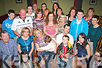 HAPPY BIRTHDAY: Deirdre Dennehy-O'Brien, Killeen Hts, Tralee (seated centre) who had a fab night celebrating her birthday last Friday night in Restaurant Uno, Tralee surrounded by many friends and family.
