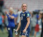 09.06.2019 England v Scotland Women: Lisa Evans