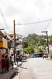 JAMAICA, Port Antonio. View of Downtown Port Antonio.