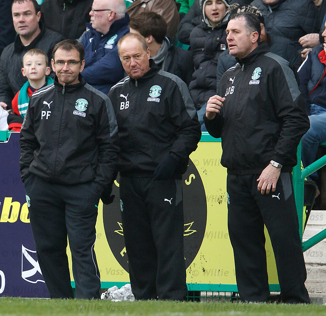 Pat Fenlon, Billy Brown and Liam O'Brien