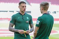 Robert Bauer (SV Werder Bremen #4)<br />, VFB Stuttgart - SV Werder Bremen, Football, Bundesliga, 21.04.2018 *** Local Caption *** © pixathlon