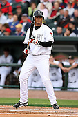 June 17th 2008:  Manny Rodriguez of the Lansing Lugnuts, Class-A affiliate of the Toronto Blue Jays, during the Midwest League All-Star Game at Dow Diamond in Midland, MI.  Photo by:  Mike Janes/Four Seam Images