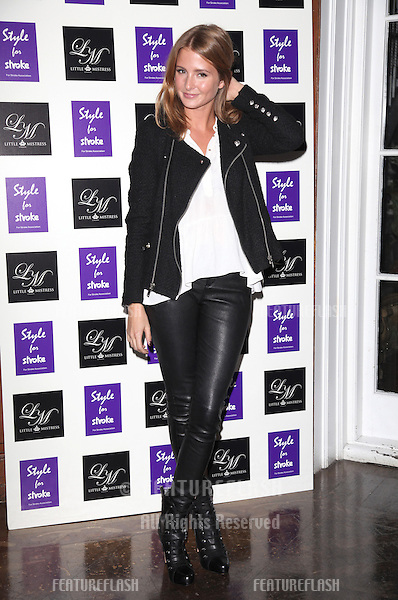 Millie Mackintosh arriving for the Style for Stroke Party, 5 Cavendish Square, London. 02/10/2012 Picture by: Alexandra Glen / Featureflash