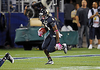 Florida International University football player wide receiver T.Y. Hilton (4) plays against Troy University on October 26, 2011 at Miami, Florida. FIU won the game 23-20 in overtime. .