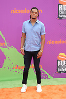 LOS ANGELES, CA July 13- Chris Archer, At Nickelodeon Kids' Choice Sports Awards 2017 at The Pauley Pavilion, California on July 13, 2017. Credit: Faye Sadou/MediaPunch