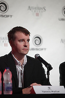 October 30 2012 - Montreal, Quebec, CANADA -  UBISOFT press conference announcing an important partnership with professional goaltender Carey Price.  <br /> IN PHOTO  : Yannis Mallat, President and Managing Director, Ubisoft Montréal