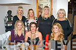 Girls from Style Council, Ashe St, Tralee dined in Bella Bia, Tralee last Saturday night for their Christmas party (seated) l-r: Joanne Lynch, Aisling Carroll and Mairead Lynch. Back l-r: Rachel Bowler, Patricia Duggan, Betty O'Mahony with Kitty Carroll.