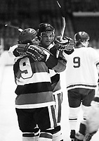 Sean Simpson Yvan Joly Ottawa 67's 1978. Photo Scott Grant