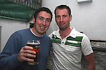 Eoin Fox and John Drew enjoy a night out in McPhails...Photo NEWSFILE/Jenny Matthews.(Photo credit should read Jenny Matthews/NEWSFILE)....This Picture has been sent you under the condtions enclosed by:.Newsfile Ltd..The Studio,.Millmount Abbey,.Drogheda,.Co Meath..Ireland..Tel: +353(0)41-9871240.Fax: +353(0)41-9871260.GSM: +353(0)86-2500958.email: pictures@newsfile.ie.www.newsfile.ie.FTP: 193.120.102.198.