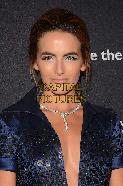 17 February 2015 - Beverly Hills, Ca - Camilla Belle. BVLGARI and Save the Children launches Stop.Think.Give., a collection of celebrity portraits photographed by Fabrizio Ferri held at Spago. <br /> CAP/ADM/BT<br /> &copy;BT/ADM/Capital Pictures