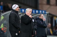 Crawley Town Manager Dermot Drummy during the Sky Bet League 2 match between Wycombe Wanderers and Crawley Town at Adams Park, High Wycombe, England on 25 February 2017. Photo by Andy Rowland / PRiME Media Images.