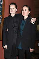 LOS ANGELES - FEB 20:  Emma Portner, Ellen Page at &quot;The Cured&quot; LA Screening at Sunset 5 Theater on February 20, 2018 in West Hollywood, CA<br /> <br /> &quot;The Cured&quot; LA Screening at Sunset 5 Theater on February 20, 2018 in West Hollywood, CA