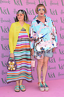 Grayson Perry &amp; wife arriving for the Victoria and Albert Museum Summer Party 2018, London, UK. <br /> 20 June  2018<br /> Picture: Steve Vas/Featureflash/SilverHub 0208 004 5359 sales@silverhubmedia.com