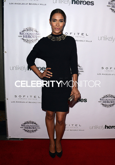 LOS ANGELES, CA, USA - NOVEMBER 08: Daniella Alonso arrives at the Unlikely Heroes' 3rd Annual Awards Dinner And Gala held at the Sofitel Hotel on November 8, 2014 in Los Angeles, California, United States. (Photo by Celebrity Monitor)