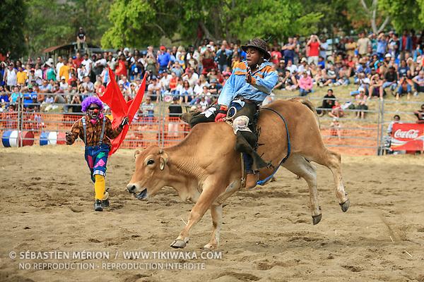 Rodéo lors de la Fête du Boeuf de Païta 2006