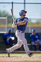 Texas Rangers Joe Jackson (82) during an Instructional League game against the Kansas City Royals on October 4, 2016 at the Surprise Stadium Complex in Surprise, Arizona.  (Mike Janes/Four Seam Images)