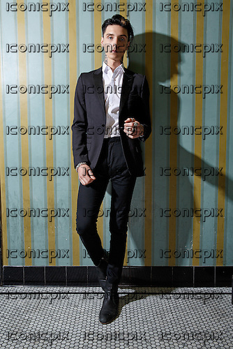 ANDY BLACK (aka ANDY BIERSACK of BLACK VEIL BRIDES) - photosession in London UK - 08 Apr 2016.  Photo credit: Paul Harries/IconicPix ** NOT AVAILABLE FOR UK MUSIC MAGAZINES **