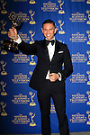 BEVERLY HILLS - JUN 22: Rodner Figueroa, with the Outstanding Daytime Talent in Spanish award for 'El Gordo y la Flaca' at The 41st Annual Daytime Emmy Awards Press Room at The Beverly Hilton Hotel on June 22, 2014 in Beverly Hills, California