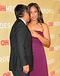 George Lopez & Laila Ali at The 3rd Annual CNN Heroes: An All-Star Tribute held at The Kodak Theatre in Hollywood, California on November 21,2009                                                                   Copyright 2009 DVS / RockinExposures